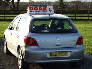 Doak Driver Training Car 1 back for you driving lessons
